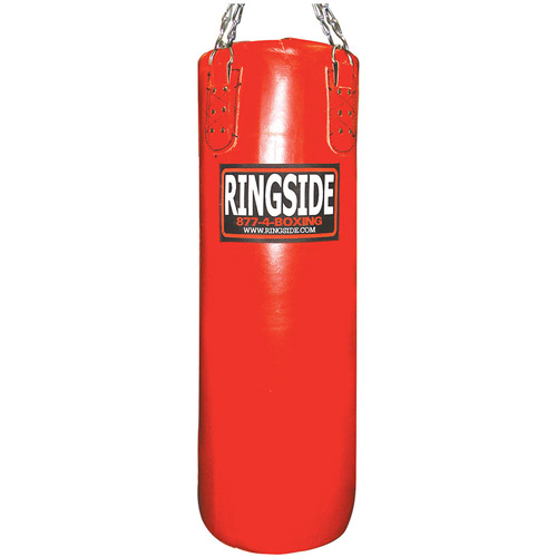 Ringside Leather Heavy Bag, Filled, 65 lbs