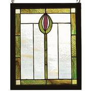 Spear Wood Frame Window Panel