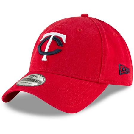 Minnesota Twins New Era Core Classic Secondary 9TWENTY Adjustable Hat - Red - OSFA