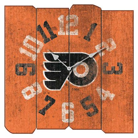 Philadelphia Flyers Vintage Square Clock