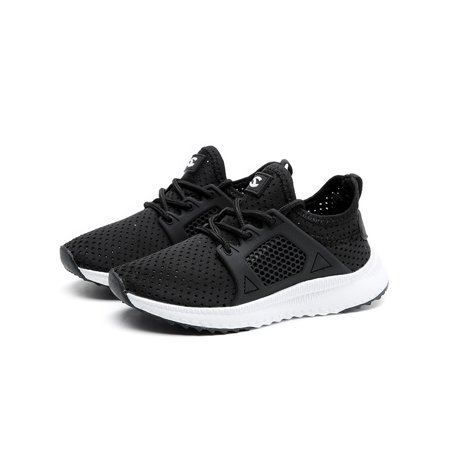 Kids Boys Girls Running Shoes Athletic Comfortable Fashion LightWeight Mesh Slip on Cushion