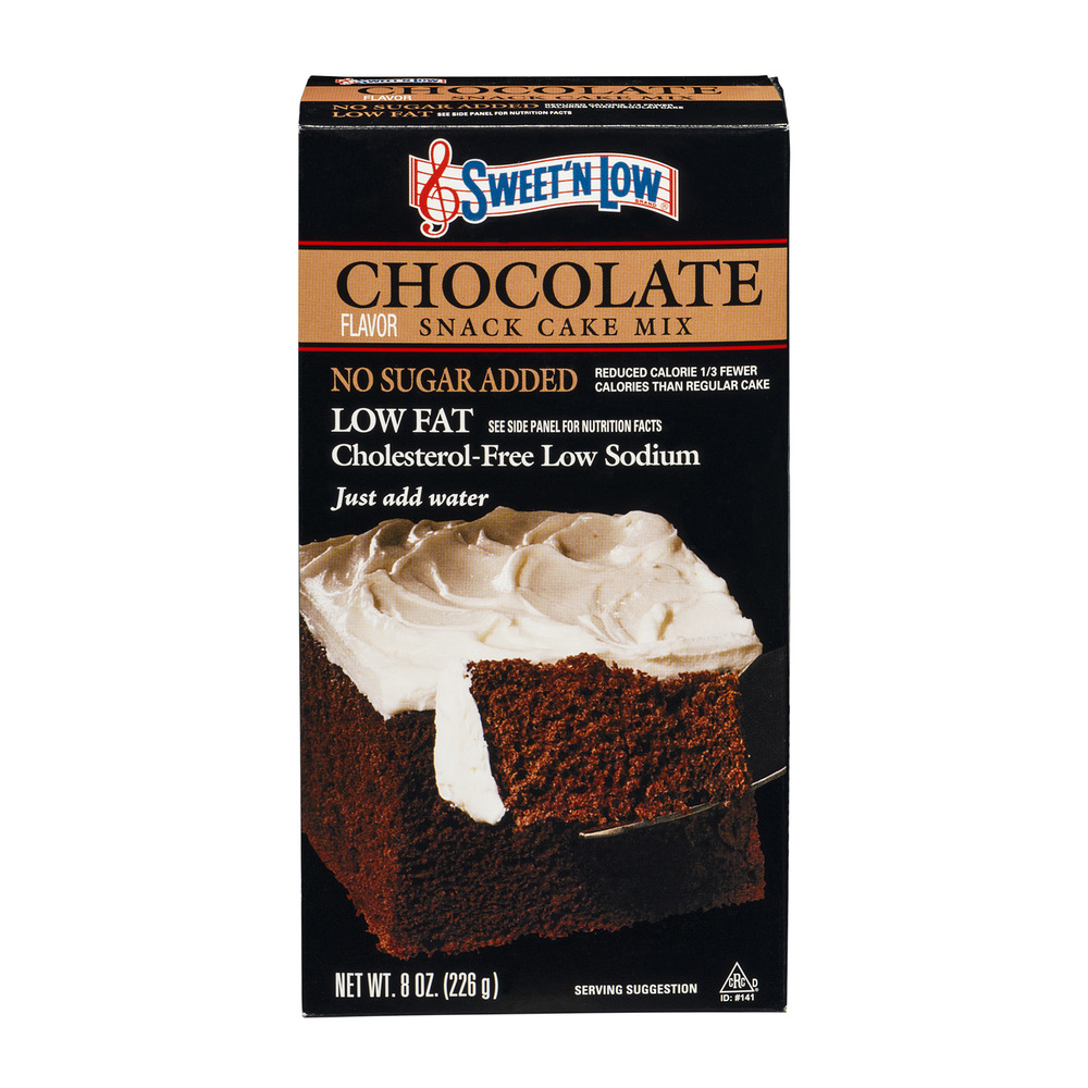 Sweet 'N Low Chocolate Snack Cake Mix Low Fat, 8.0 OZ