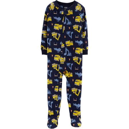 Microfleece Footed Blanket Sleeper (Baby Boys & Toddler Boys)