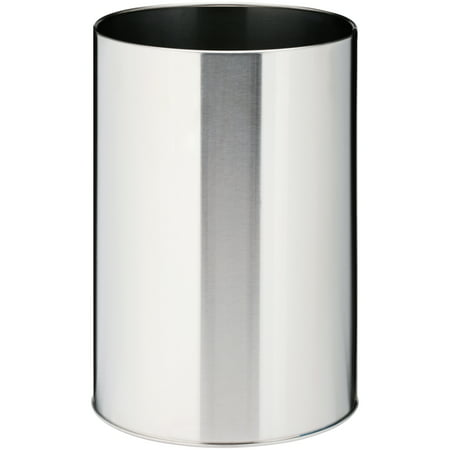 - LDR® Brushed Nickle Waste Basket