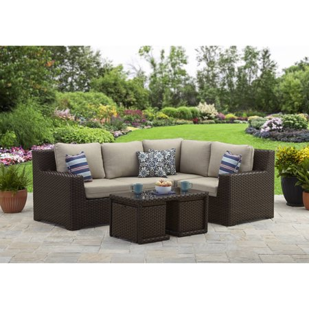 Better Homes and Gardens Weston Pointe 7 Piece Outdoor Sectional Set, Box 1 of 3