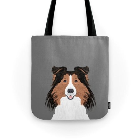 Society6 Jordan   Shetland Sheep Dog Gifts For Sheltie Owners And Dog People Gift Ideas Perfect Dog Gifts Tote Bag