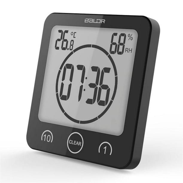 Details about  /Bathroom Clock Outdoor Clocks Waterproof Shower Clock for Kitchen Cook