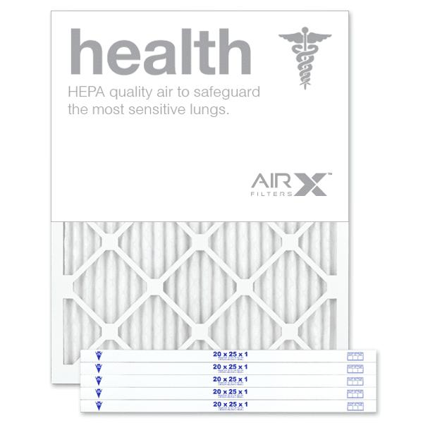 AiRx Health 20x25x1 MERV 13 Pleated Filter