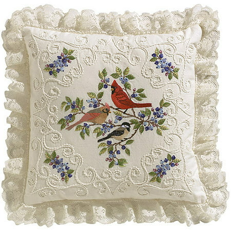 Janlynn Birds And Berries Candlewicking Embroidery Kit, 14