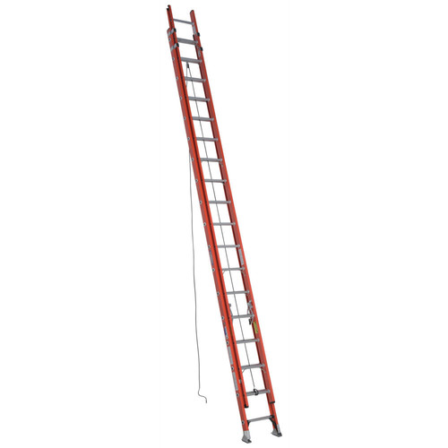 Werner D6236-2 36 ft. Type IA Fiberglass D-Rung Extension Ladder by Werner