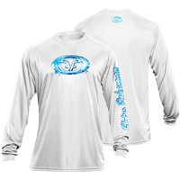 Flying Fisherman Long Sleeve Water Logo Performance Tee (Two Colors Available)