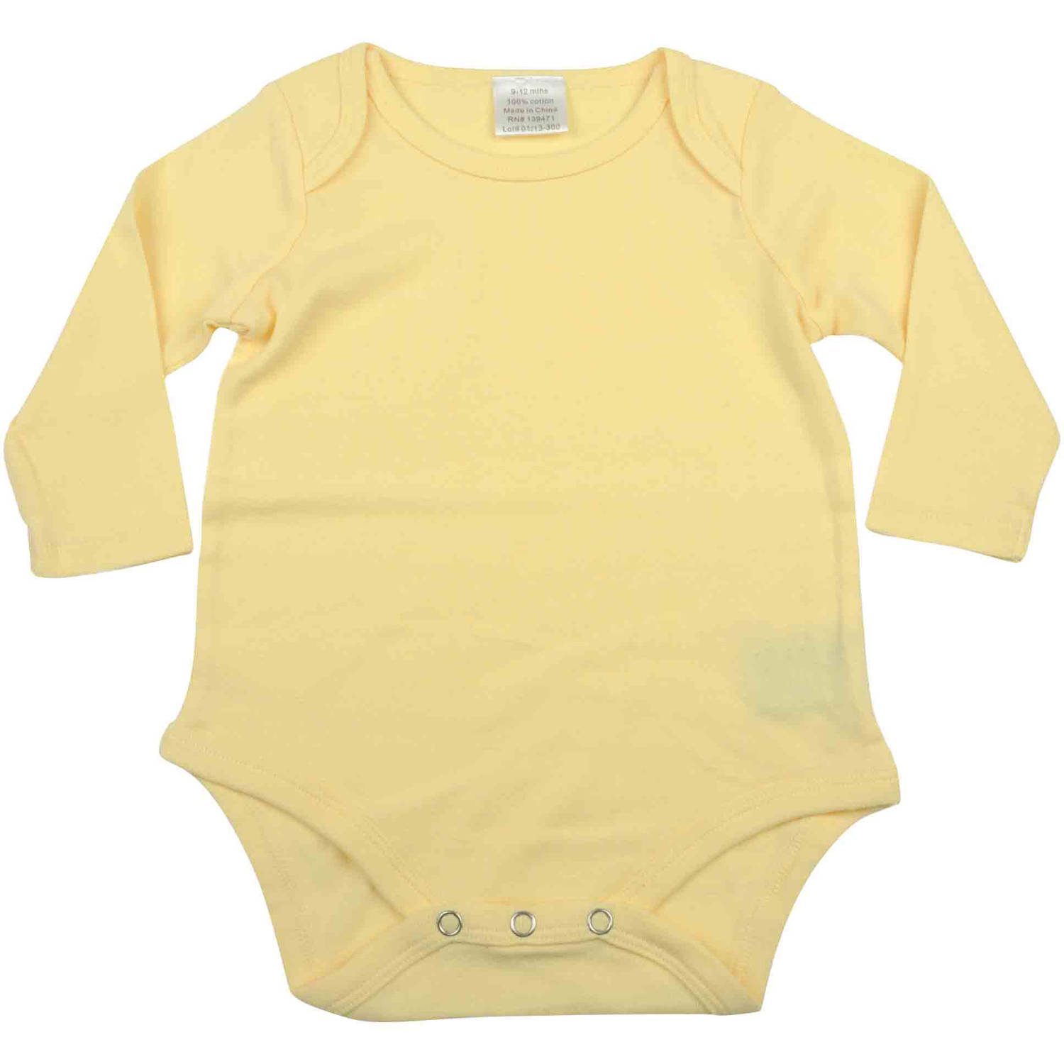 Kidz Stuff Insect Repellant Newborn  Baby Boy, Girl or Unisex Long-Sleeved Bodysuit