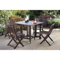 Eucalyptus Folding Chairs, Set of 4 ( Table sold separately)