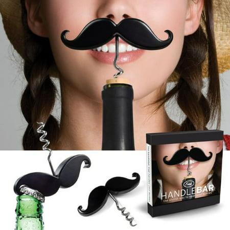 Fred HANDLEBAR Mustache Corkscrew & Bottle Opener - image 1 of 4