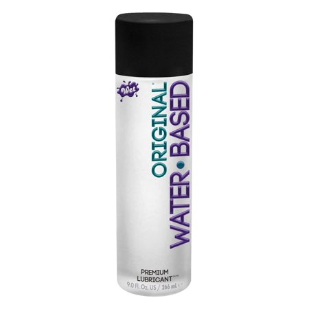 Wet Original Water Based Lubricant Gel - 9.0 (Wet Warming Intimate Water)