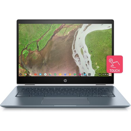 HP Chromebook x360 Convertible 14-da0011dx 14u0022 Chromebook - 1920 x 1080 - Core i3 i3-8130U - 8GB RAM - 64GB Flash Memory (Factory Refurbished)