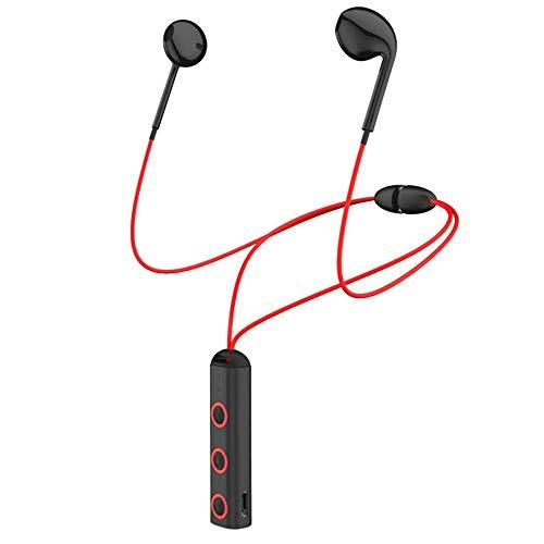 Bluetooth Sport Headphones, Wireless V4.1 Headphones in-Ear Bluetooth Earbuds, Built-in Mic, HD Stereo Sound, Noise Cancelling IPX7 Waterproof Sweatproof Sport Earbuds (Black)