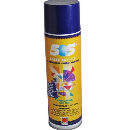 (505 Spray & Fix Temporary Fabric Adhesive 10.93oz)