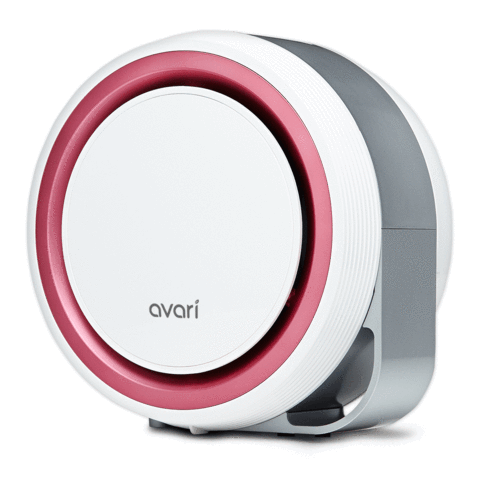 Avari 525 Better than HEPA Air Purifier, Pink