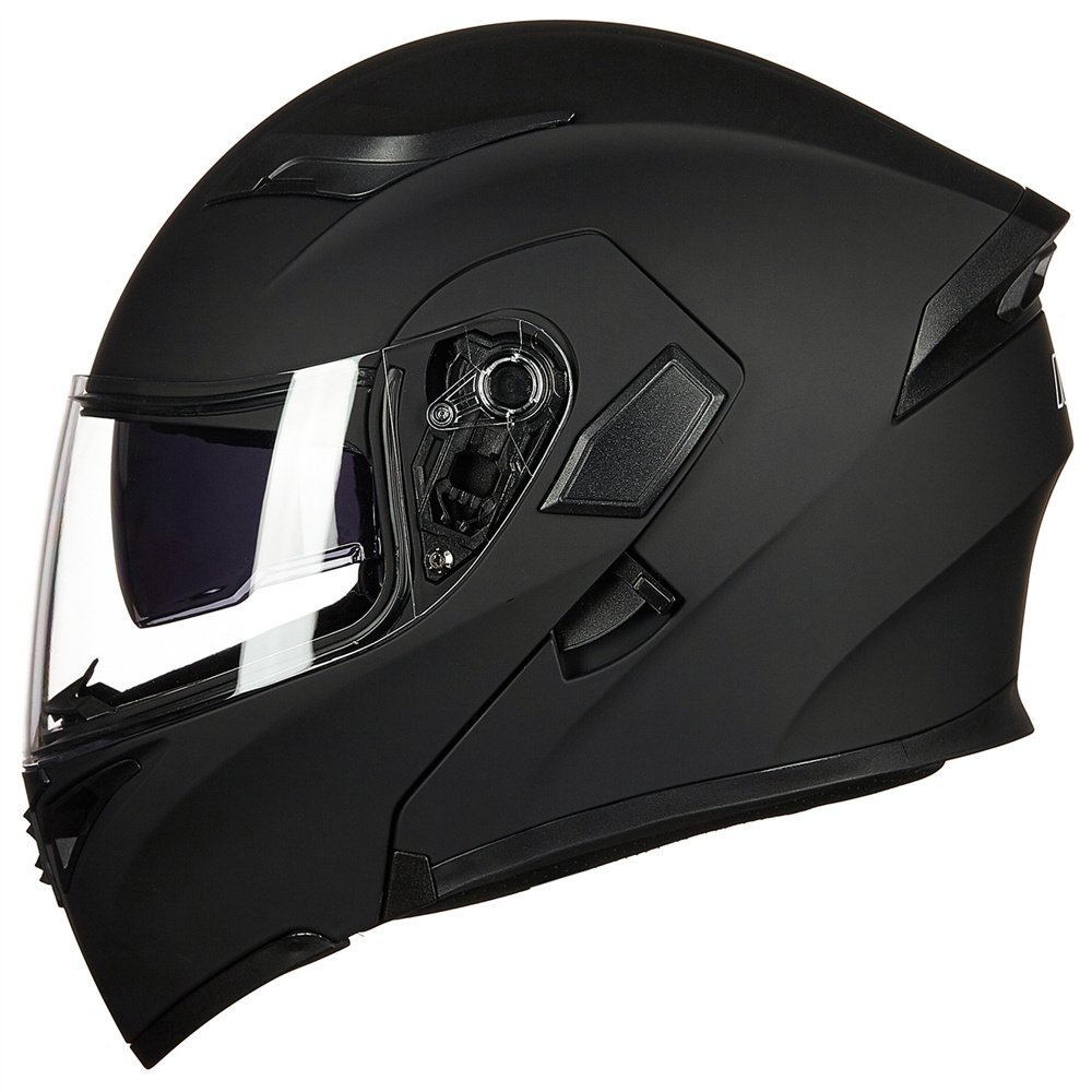 b67fac92 DOT Approved ILM Motorcycle Modular Flip-up Helmet Dual Visors Full Face  Helmet with 6 colors& 4 sizes Available - Walmart.com