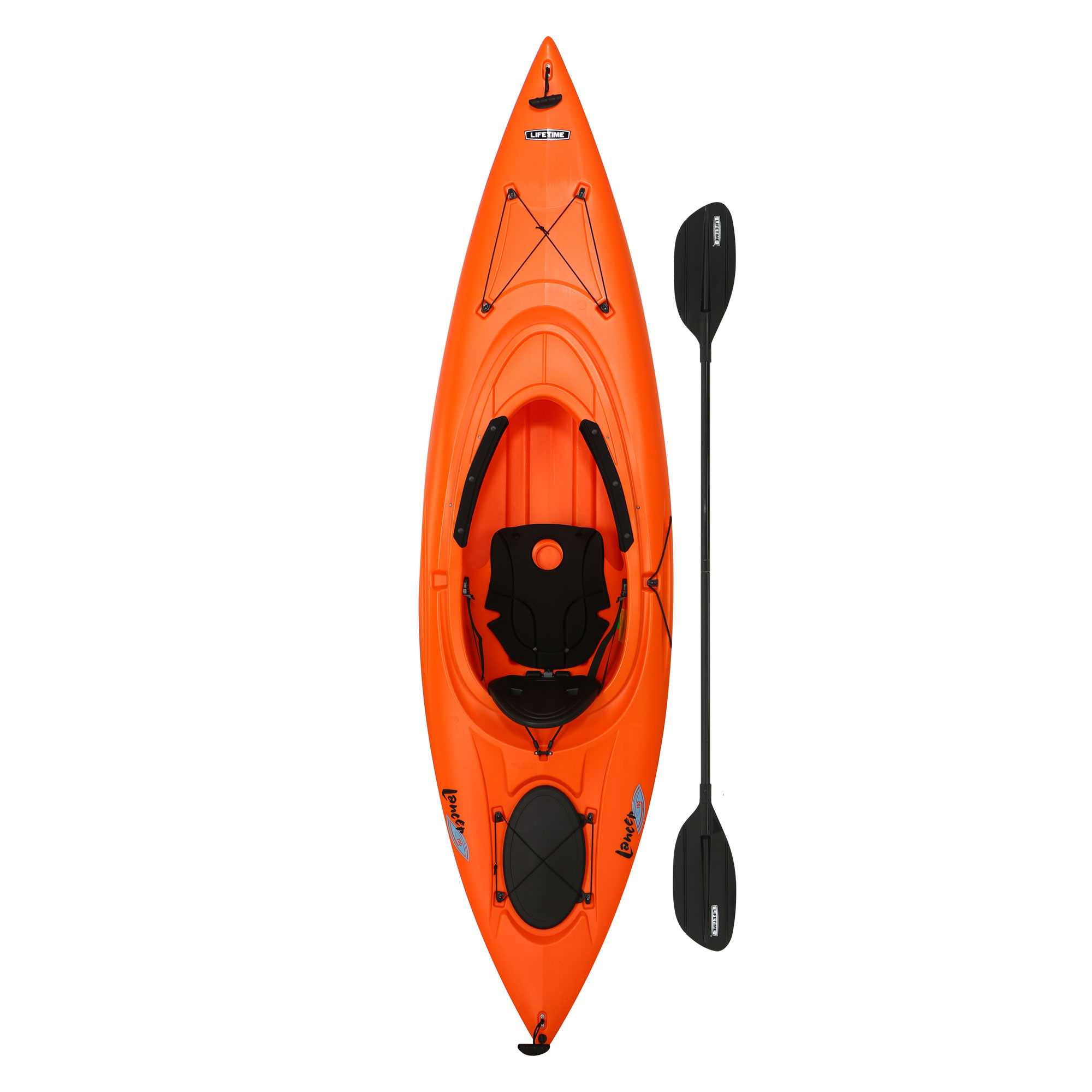 Lifetime Lancer 100 Sit-In Kayak (Paddle Included) by Lifetime Products