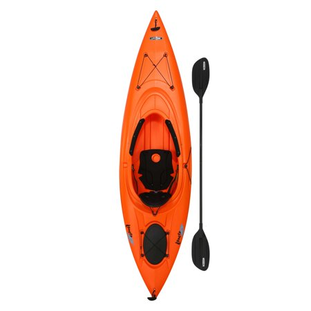 Lifetime Lancer 100 Sit-In Kayak (Paddle Included) Only $185