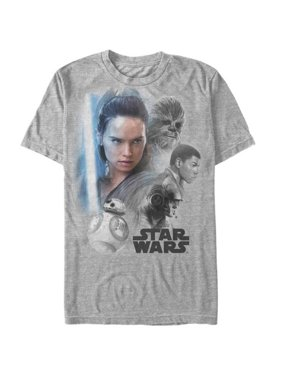 d99920e902 Product Image Star Wars  The Last Jedi - Real Heroes Apparel T-Shirt - Grey