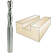 Whiteside Router Standard Spiral Bit with Up Cut Solid Carbide