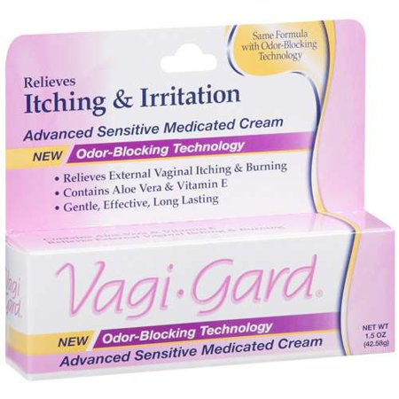 vagi-gard: relieves external vaginal itching & burning advanced, Skeleton