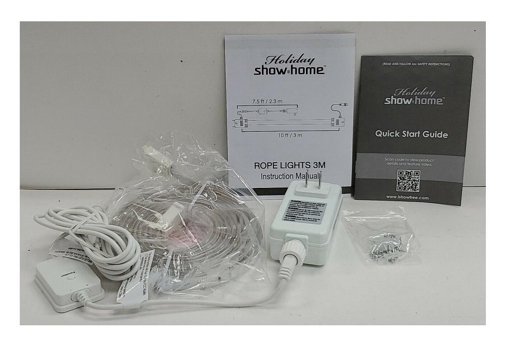 Holiday Show Home Led Light Strip 10 Feet Color Changing Bluetooth App Lights Walmart Com Walmart Com