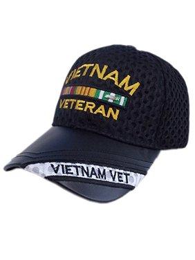 828bc21d76de7 Product Image US Honor Official Embroidered Air Flow Vietnam Veteran Bar  Baseball Caps Hats