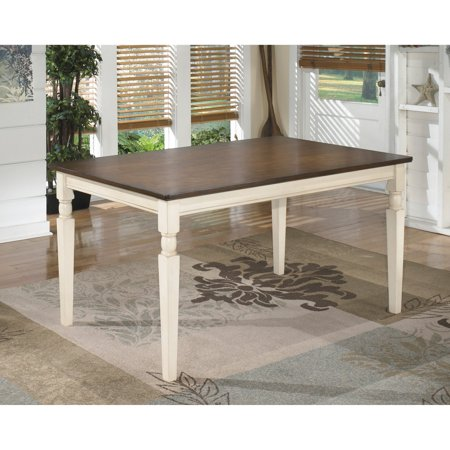 Signature Design by Ashley Whitesburg Rectangular Dining (Steel Rectangular Dining Table)