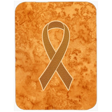 Orange Ribbon for Leukemia Awareness Mouse Pad, Hot Pad or Trivet AN1204MP