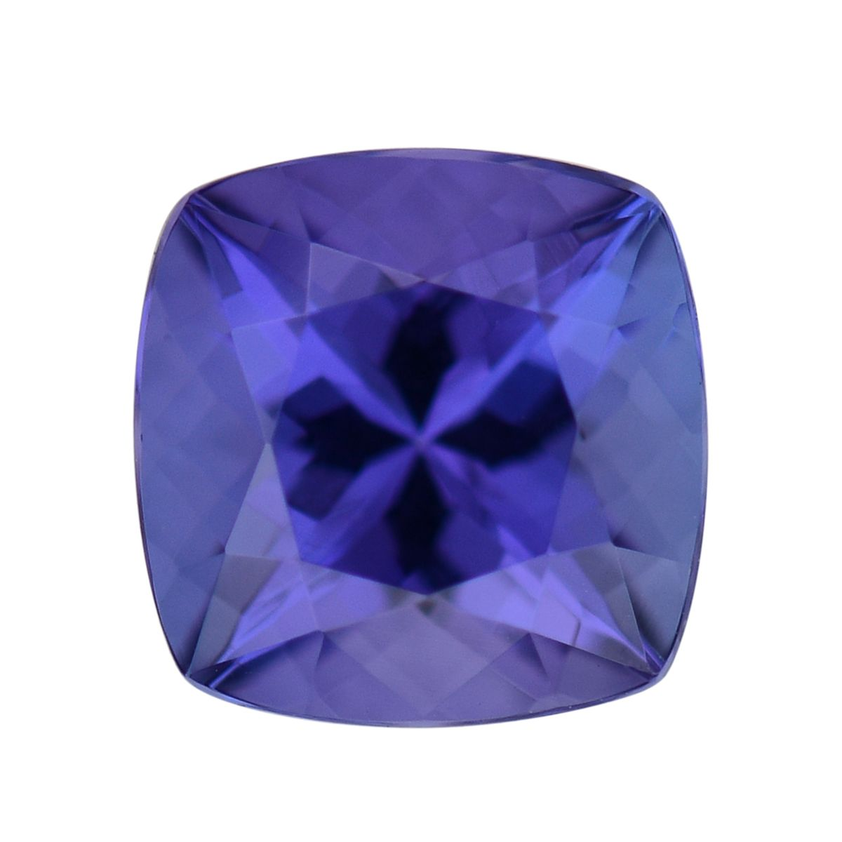 Tanzanite Cush 7.5x7.5 mm 3A 1.5 cttw by Shop LC