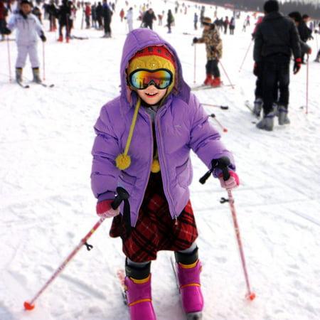 AGPTEK Kids Youth Junior Snowboarding Snow Ski Goggles Windproof Anti Fog (Ski Goggles India)