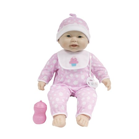 JC Toys 'Lots to Cuddle Babies' Asian 20-Inch Pink Soft Body Baby Doll and - Asian Doll Halloween Makeup