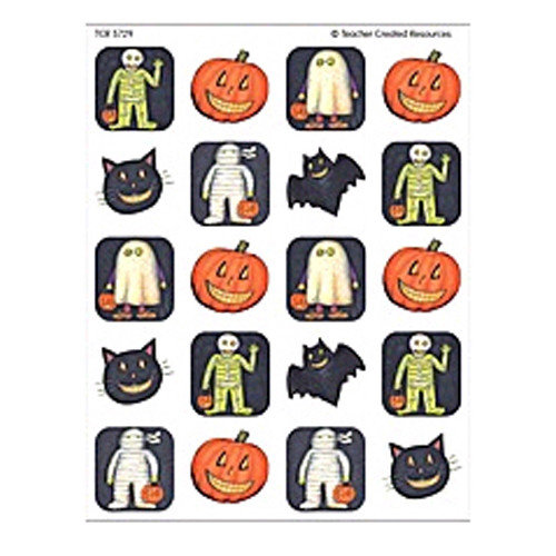 Teacher Created Resources 120 Piece Halloween Sticker (Set of 3)