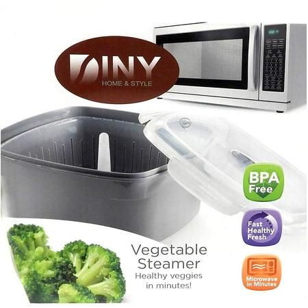 Microwave Vegetable Steamer Veggie Steamer ()