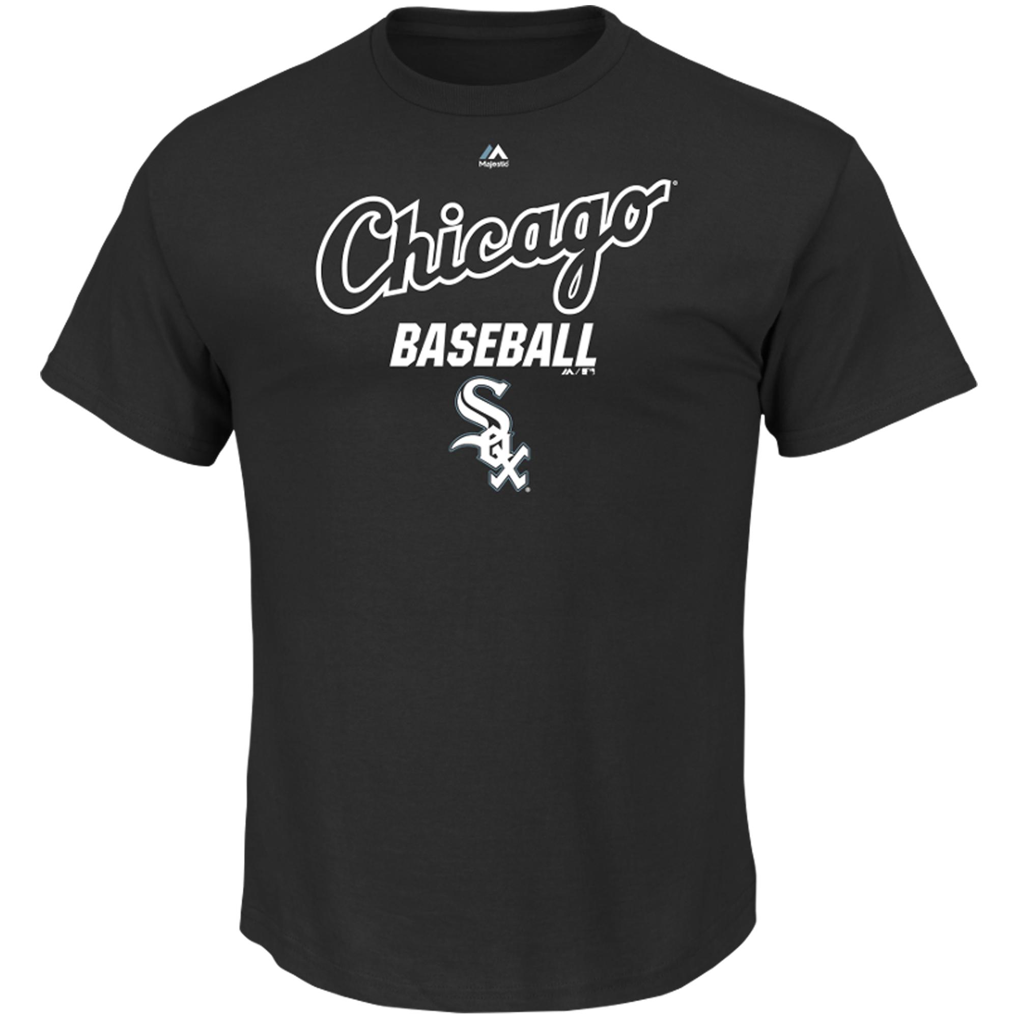 Chicago White Sox Majestic Big & Tall All of Destiny T-Shirt - Black
