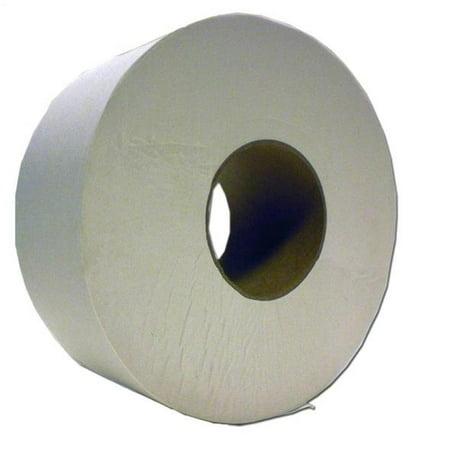 Jumbo Roll Paper - North American Paper 880498 Jumbo Junior Bathroom Tissue, 2 Ply, 1000 ft Roll, Paper per CS 8