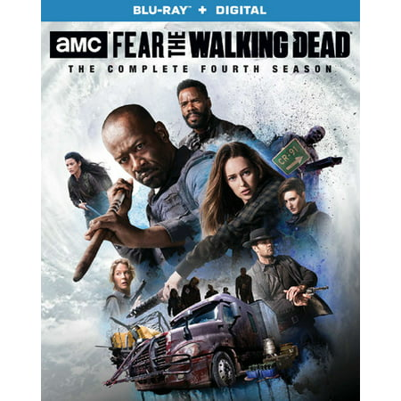Fear the Walking Dead: The Complete Fourth Season (Blu-ray) - Halloween Horror Nights 12 Islands Of Fear