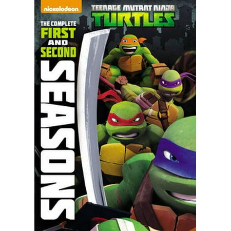 Teenage Mutant Ninja Turtles: The Complete First & Second Seasons (DVD) (Ninja Turtles 2017)