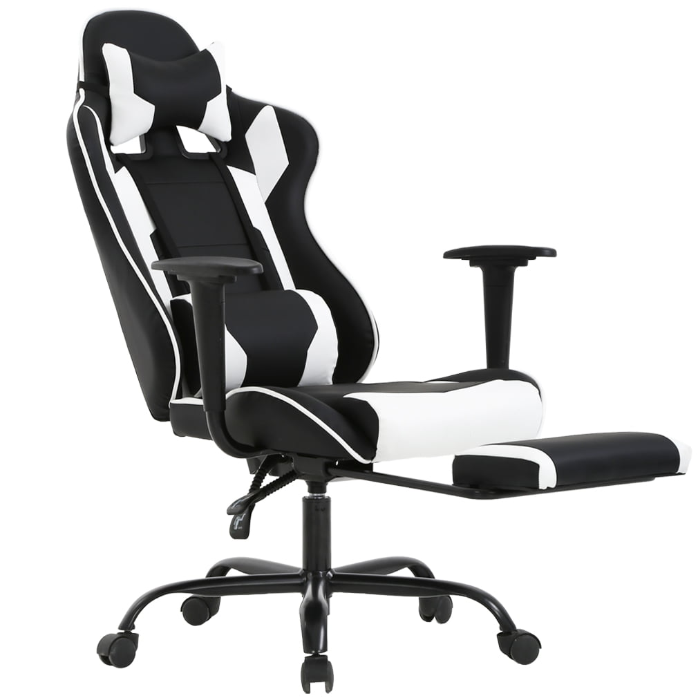 Magnificent Bestoffice High Back Recliner Office Chair Computer Racing Gaming Chair Rc1 Walmart Com Andrewgaddart Wooden Chair Designs For Living Room Andrewgaddartcom