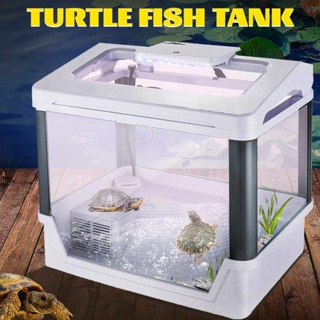 Moaere Reptile Turtle Tortoise Breeding Box Aquarium Tank Basking Platform 14''x10''x13'' ()