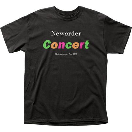 New Order English Rock Band Music Neworder Concert NA Tour '89 Adult T-Shirt
