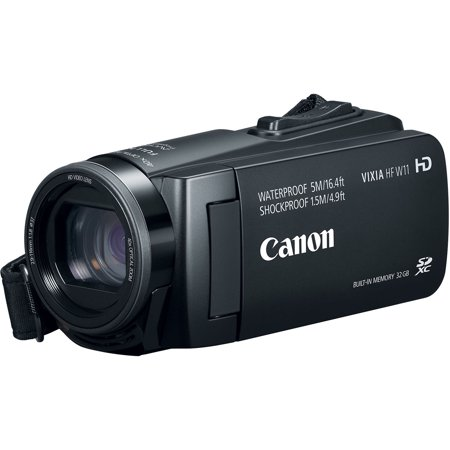 Canon Vixia HF W11 32GB 1080p HD Shock + Waterproof Video Camera Camcorder
