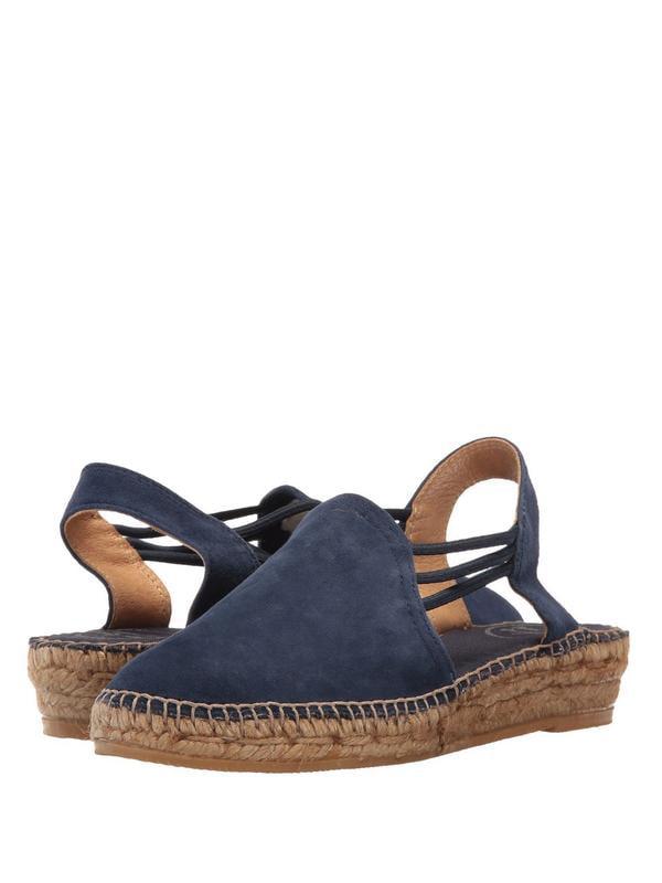 Toni Pons NuriaWomen's Nubuck Suede Espadrille Sandals