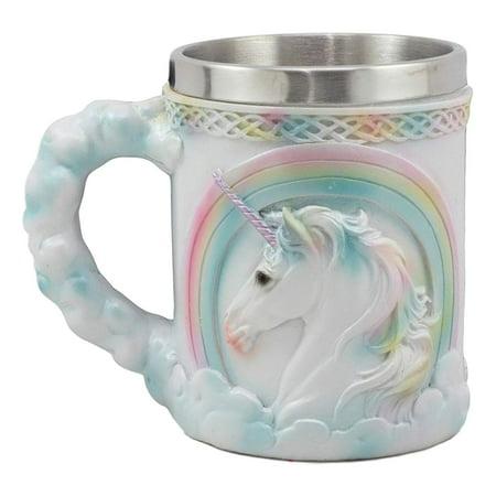 - Ebros Rainbow Unicorn Coffee Mug 13oz Elixir Of Youth Sacred Unicorn Themed Novelty Mug