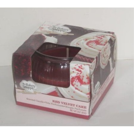 Red Velvet Cake Scented Candle by The Bakery (The Shoppes Of Atlanta)