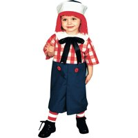 Morris costumes 12113 Raggedy Andy Toddler 2 To 4